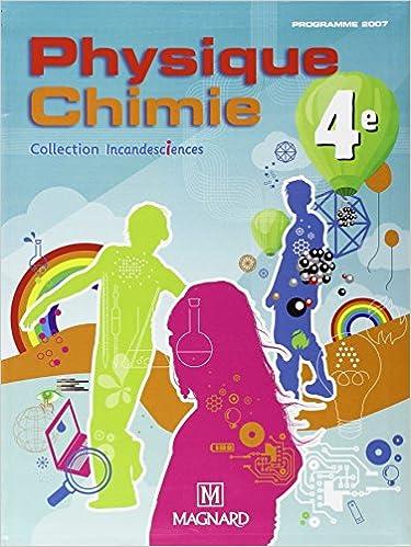 Livres gratuits en ligne Physique Chimie 4e : Manuel élève pdf, epub