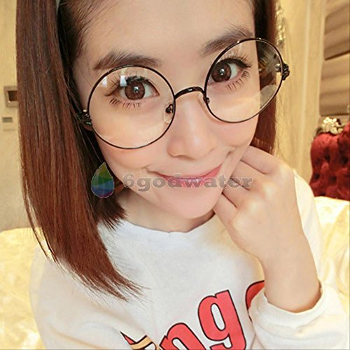 [2016 most popular glasses Cosplay Glasses Spectacles Round Eyewear Black] (Dark Shadows Halloween Costumes)