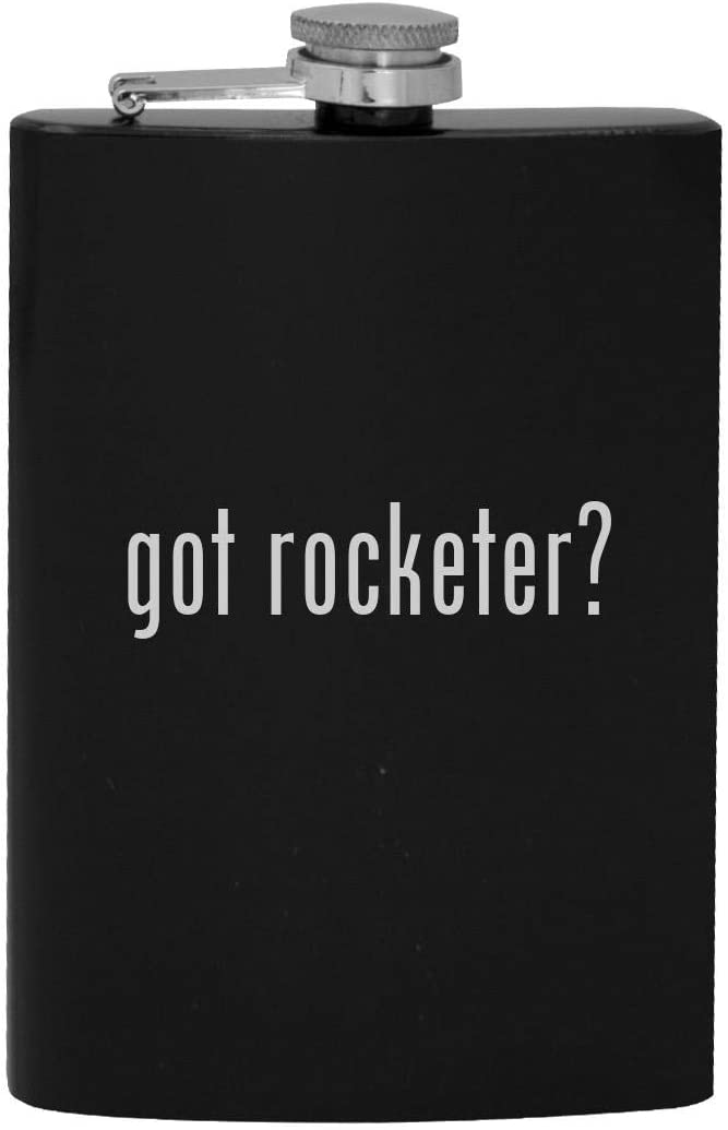 got rocketer? - 8oz Hip Drinking Alcohol Flask