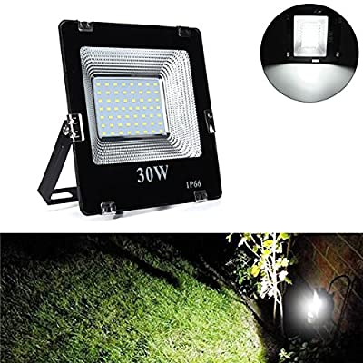 30W SMD5630 LED Aluminium Flood Light Outdoor IP66 Waterproof Yard Garden Landscape Lamp AC180-265V