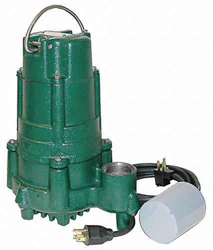 (Zoeller BN140 Flow Mate 115 Volt Cast Nonauto Submersible Pump wVariable Level Float Switch)