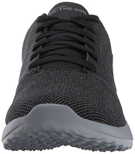 Negro Entrenamiento Go City The Black Gray On Skechers Hombre Zapatillas 3 de para Enw0vtxt6q