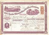 Cedar Rapids and Missouri River Railroad - Stock