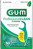 GUM Professional Clean Flossers, Fresh Mint
