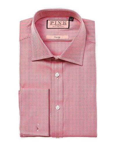thomas-pink-mens-prestige-classic-fit-dress-shirt-17r-red