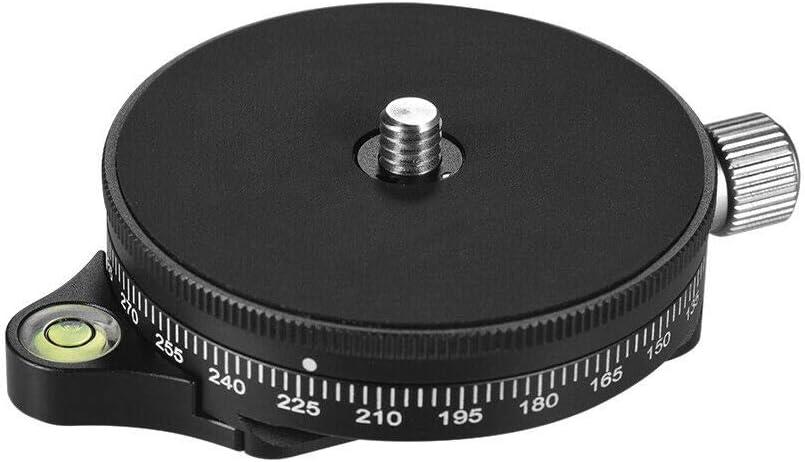 RONSHIN 360/° Panoramic Camera Ballhead Tripod Head for Tripods Monopods DSLR Camera