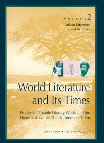 Download World Literature and Its Times: African Literature and Its Times ebook