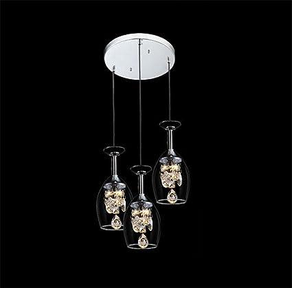 Letto Rotondo Calice.Moderno Guidato Calice Forma Bicchiere Lampade A Sospensione