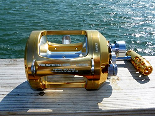 OKIAYA MARLIN SERIES Pro National 30W-II 2 Speeds Big Game Reel
