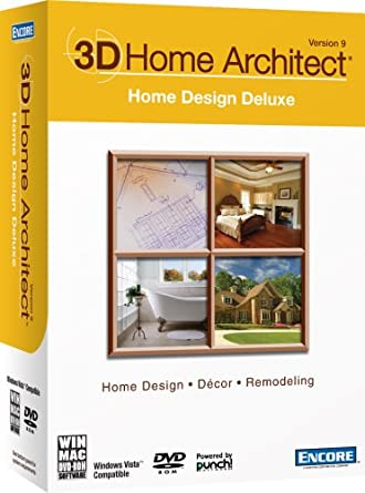 Amazon.com: 3D Home Architect Home Design Deluxe Version 9 [Old ...