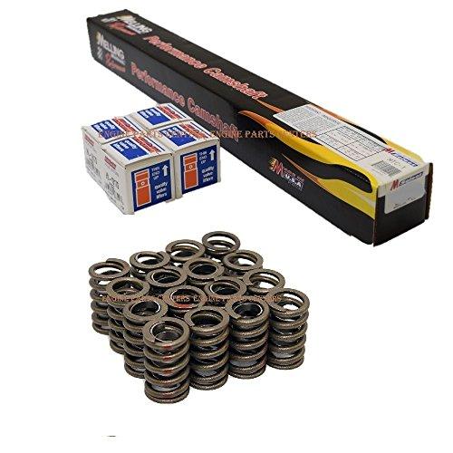 Chevy SB 283 305 327 350 400 HYD FLAT Street/Strip Cam+Lifters Kit w/ springs (VALVE LIFT: (Hyd Lifters)