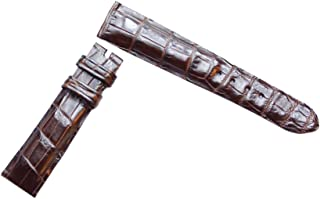 product image for Dark Brown Alligator Replacement Watch Strap, Gator and Crocodile Watch Band Collection by John Woodward