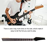 Electric Guitar Neck,24 Frets Red Mark Dots Maple