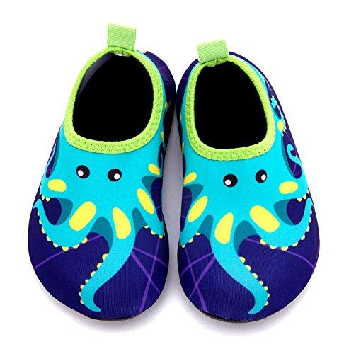 Giotto Enfants Nager Chaussures De Leau À Séchage Rapide Anti-dérapant Pour Garçons Et Filles A-bleu