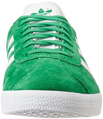 Gazelle Baskets Adidas Mixte green white Basses Vert Met Adulte gold 6qTdnqr4
