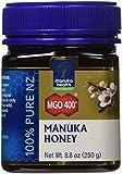 Manuka Health - MGO 400+ Manuka Honey, 100% Pure New Zealand Honey, 8.75 oz (250 g) (FFP)