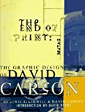 The End of Print, David Carson and Lewis Blackwell, 0811811999