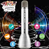 Best Karaoke Microphones - Wireless Kids Karaoke Microphone with Speaker, Portable Bluetooth Review
