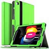 Galaxy Tab S4 9.7 SM-T835 Case - kuGi Multi-Angle Stand Slim-Book PU Leather Cover Case for Samsung Galaxy Tab S4 9.7 SM-T835 tablet(9.7 inch)(Green)