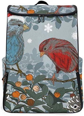 リュック メンズ レディース リュックサック 3way バックパック 大容量 ビジネス 多機能 鳥柄 花柄 クリスマス スクエアリュック シューズポケット 防水 スポーツ 上下2層式 アウトドア旅行 耐衝撃