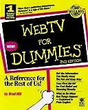 WebTV for Dummies, Brad Hill, 0764504614