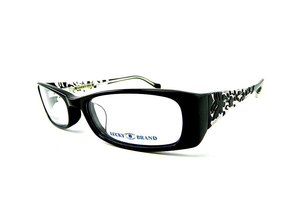 LUCKY BRAND MICHELLE AF Eyeglasses Black Crystal 51-16-135