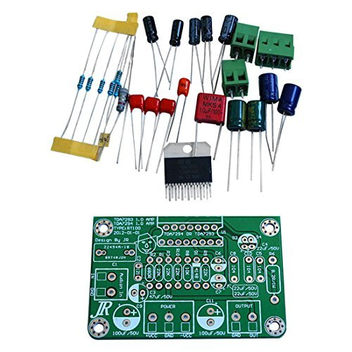 TOOGOO(R) TDA7294 80W 100W Mono Audio AMP Amplifier Board DC30V-40V Kits Fit for TDA7293 Green
