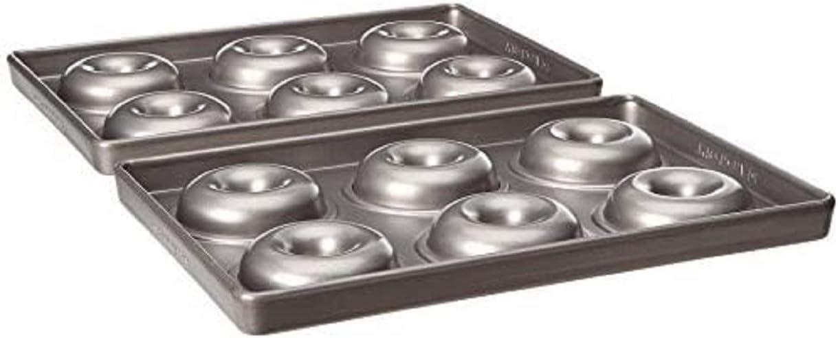 KitchenAid kbnss06dg molde, acero, 18,2 x 27,3 x 4 cm, plateado, 2 bandejas: Amazon.es: Hogar