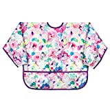 Bumkins Waterproof Sleeved Bib, Watercolor, 6-24 Months