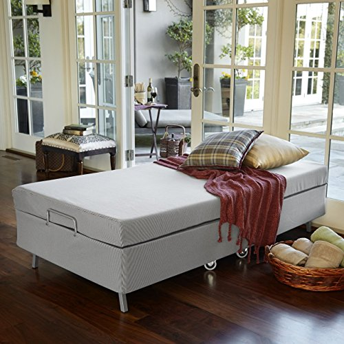 Zinus Memory Foam Resort Folding Guest Bed with Wheels Standard Twin