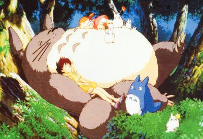 My Neighbor Totoro Sleeping Movie Poster Print