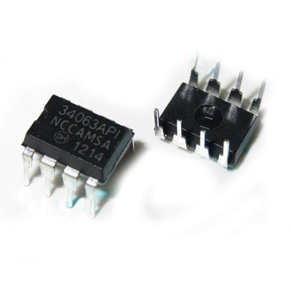 1 Piece MC34063A MC34063 DC-to-DC converters Buck Boost Inverting Regulator, Switching, 1.5 A DIP8 BERNMZL