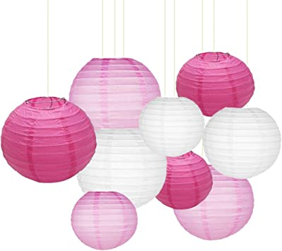 """Purple 10/"""" inch Chinese Paper Lantern Wedding Party Event Decoration cf"""