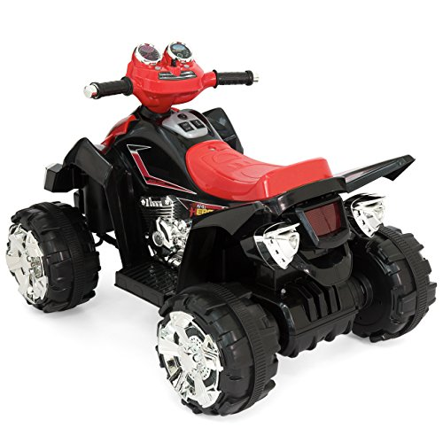 fcce4ad31c3 Best Choice Products 12V Kids Battery Powered Electric 4-Wheeler Quad ATV  Ride-On