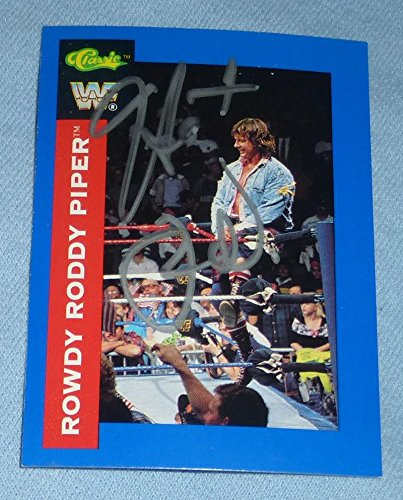 Roddy bottom autographed