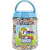 Perler Fun Fusion Bote de Cuentas (Paquete de 18 000), Multicolor