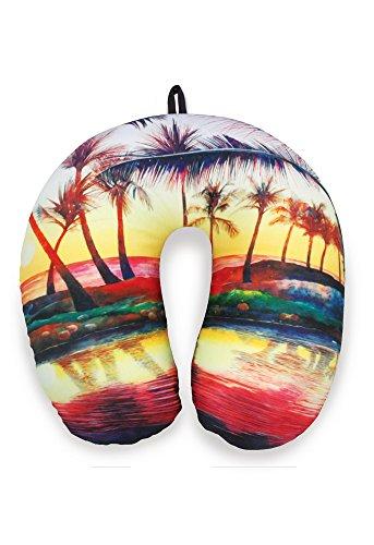 Travel Neck Pillow: Sunset