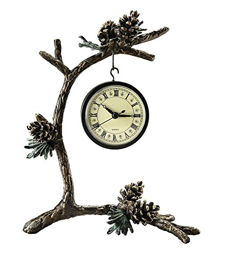 (SPI Home Pinecone & Branch Clock)