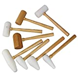 8-Pc Super Metal-Forming Mallet Set 8036-142, Made in USA