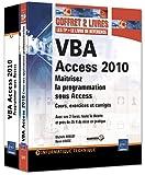 VBA Access 2010 - Coffret de 2 livres : Maîtrisez la programmation sous Access