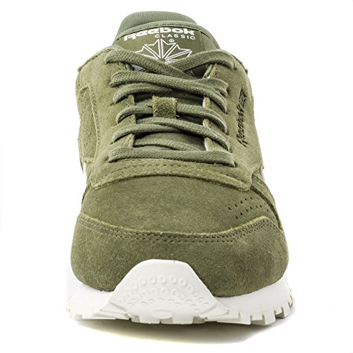 new style a4aaf c3bb4 reebok classic suede core green