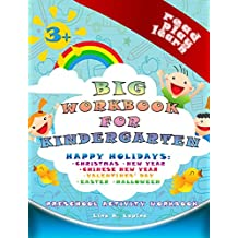 Big Preschool Workbook (Teacher Edition): worksheets and dictionary for kindergarten: world holidays (Read Play Learn 8)