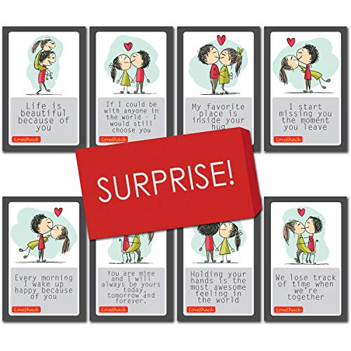 Love Story Romantic Cards - Birthday, Anniversary Gift for Wife Husband Girlfriend Boyfriend