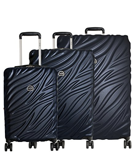 Spinner Case 21 (Delsey Paris Alexis Luggage Set 3 Piece Lightweight Hardside Spinner Suitcase (21