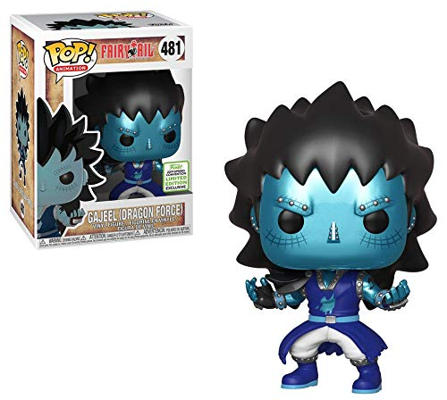 Animation Fairytail Gajeel #481 2019 Spring Convention LE Exclusive Dragon Force Funko Pop