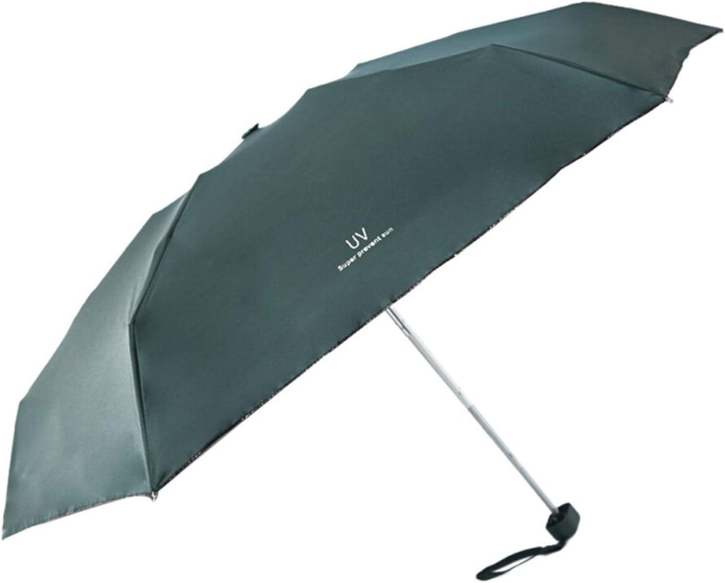 Women Men Umbrella Solid Mini Pockets Small Folding Kid Umbrella Men Sun Rainwear Parasol,Ml
