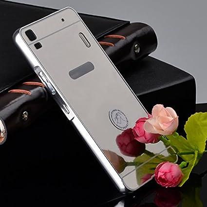 pretty nice 2b649 d51ae SDO™ Acrylic Mirror Back Cover Case with Bumper: Amazon.in: Electronics
