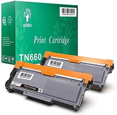 GREENSKY 2 paquetes cartucho de tóner compartible de reemplazo ...