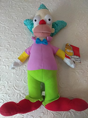 "The Simpsons Krusty the Clown 12"" Plush Doll"