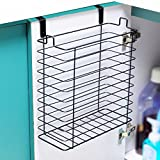 Neat-O Over the Cabinet Trash Can Basket Storage Organizer Holder